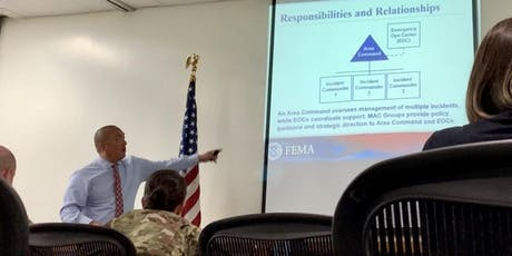 FEMA ICS-400: Advanced ICS Command General Staff – Complex Incidents tickets