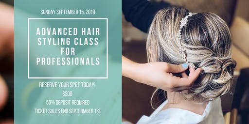 Advanced Hairstyling Class for Professionals