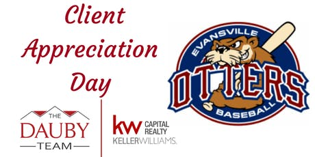 The Dauby Team Client Appreciation - OTTERS GAME tickets