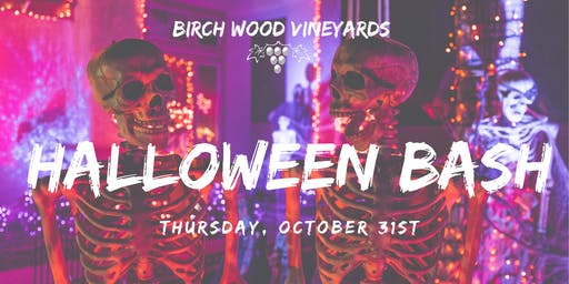 Birch Wood Vineyards Halloween Bash