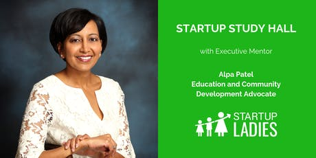 Startup Study Hall Terre Haute with Alpa Patel tickets