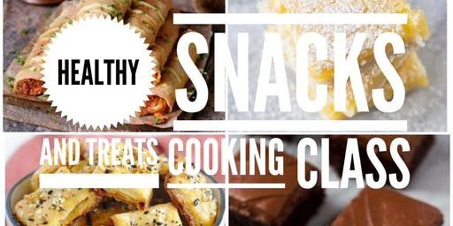 Snacks and Sweets Cooking Class (Hands-on)
