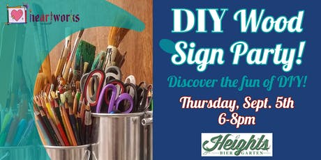 DIY Wood Sign Party! tickets