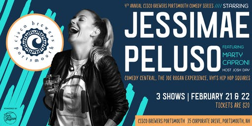 Jessimae Peluso: Cisco Brewers Portsmouth Comedy Series