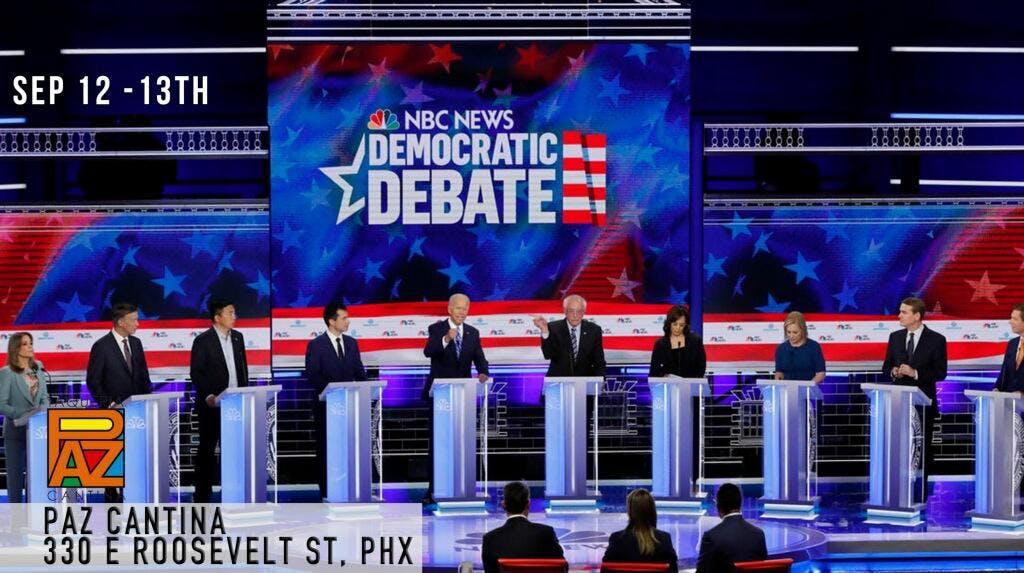 Democratic Debate - Third Round banner