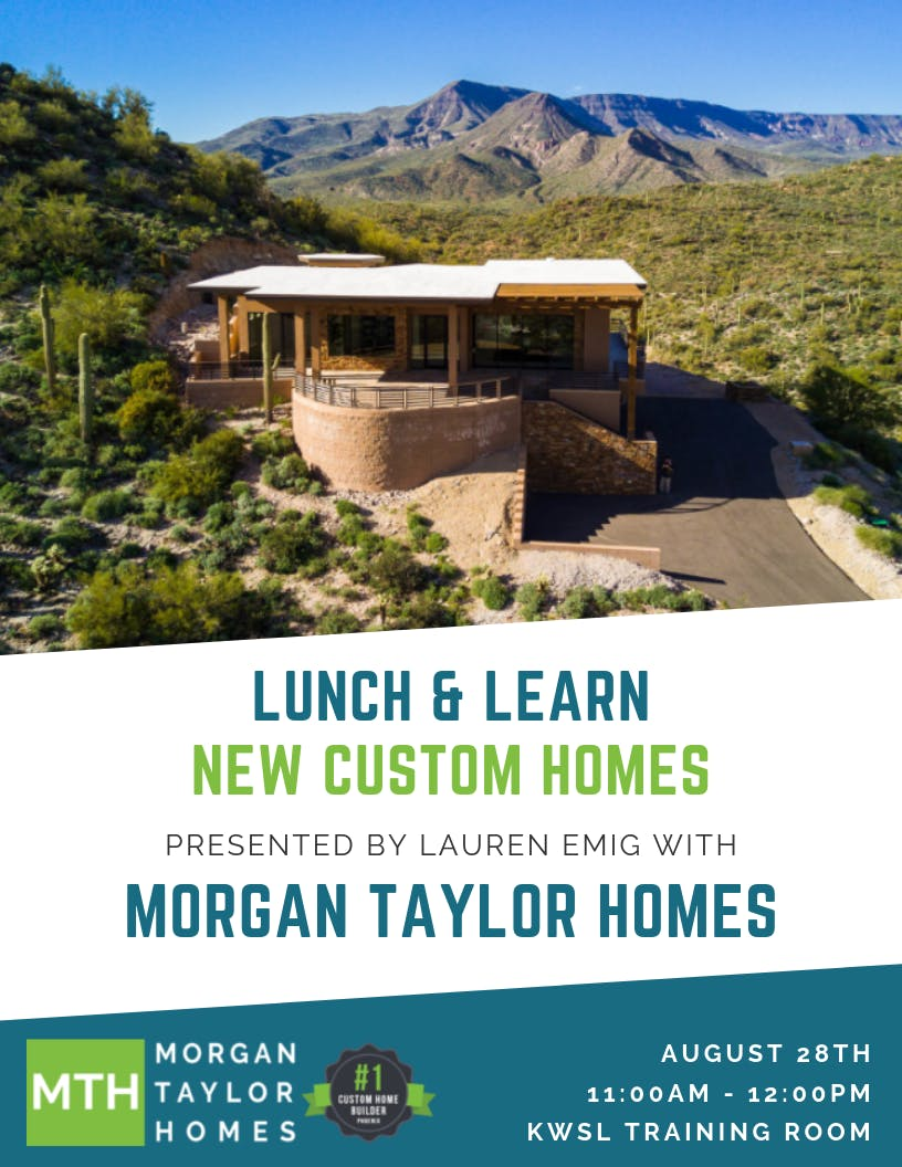 Morgan Taylor Homes Lunch & Learn