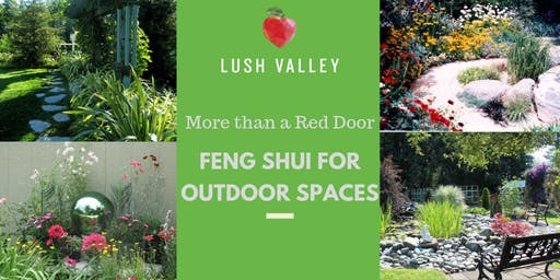 More Than a Red Door: Feng Shui for Outdoor Spaces
