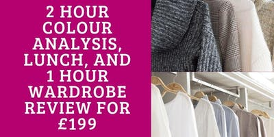 Colour Analysis with Wardrobe Review and Lunch