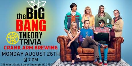 The Big Bang Theory Trivia at Crank Arm Brewing tickets