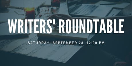 Writers' Roundtable tickets