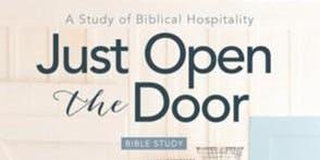 The Sacred Nest Bible Study - Just Open the Door