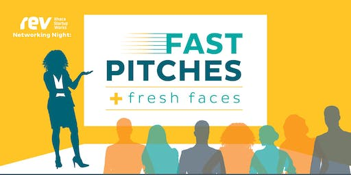 Networking@Rev: Fast Pitches and Fresh Faces