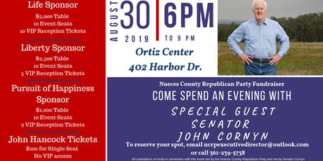 An Evening with John Cornyn tickets