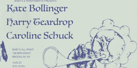 Kate Bollinger with Harry Teardrop + Caroline Schuck tickets