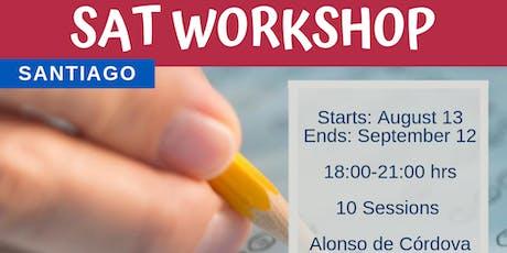Santiago UMayor: SAT Workshop tickets