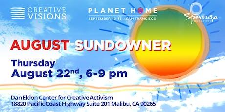 Creative Visions August Sundowner tickets