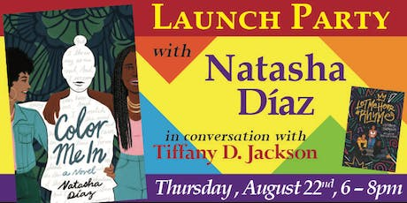 Launch Party for COLOR ME IN with Natasha Diaz! tickets
