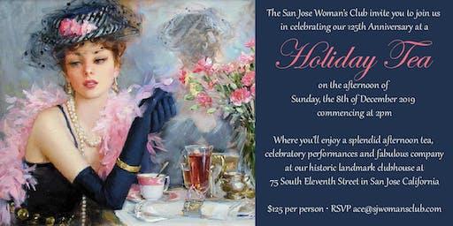San Jose Woman's Club 125th Anniversary Holiday Tea