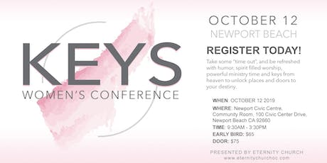 KEYS Women's Conference: unlock your identity, your vision and live free tickets
