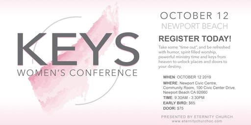 KEYS Women's Conference: unlock your identity, your vision and live free