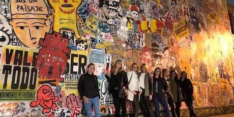 Recorrido de ARTE URBANO + Visita a TALLER de artistas urbanos por Palermo y Villa Crespo (Entrada incluye cerveza)  entradas