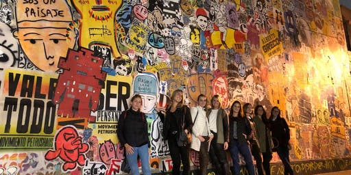 Recorrido de ARTE URBANO + Visita a TALLER de artistas urbanos (Entrada incluye cerveza Rabieta)