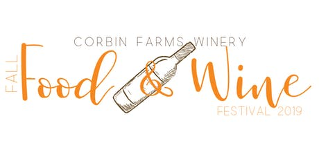 Fall Food & Wine Festival tickets