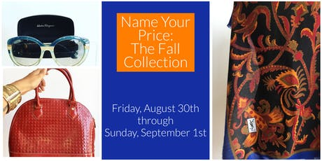 Name Your Price: The Fall Collection tickets