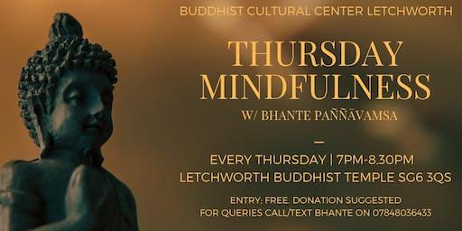 Thursday Mindfulness