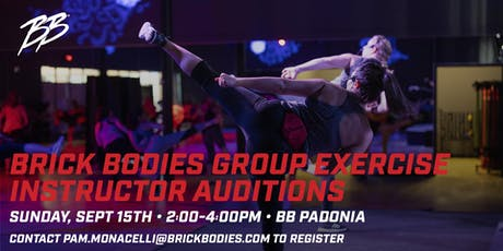 Brick Bodies Group Fitness Auditions tickets