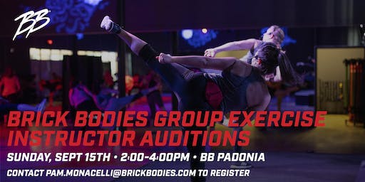 Brick Bodies Group Fitness Auditions