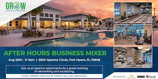 GROW Network - After Hours Business Mixer @ SPECTRA