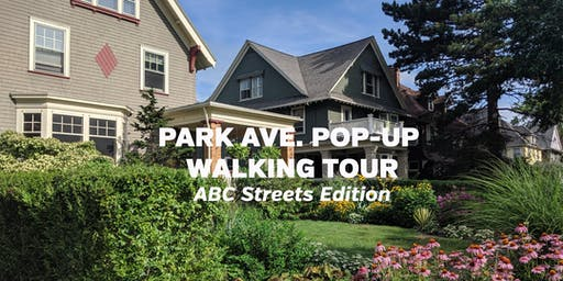 Park Avenue Pop-Up Walking Tour: ABC Streets Edition