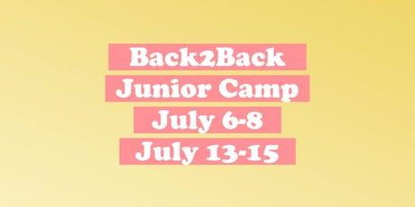 Back2Back Junior Camp Special tickets