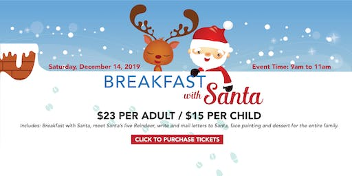 Breakfast With Santa & His Live Reindeer