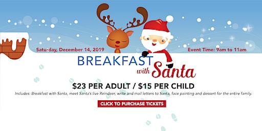 Breakfast With Santa & His Live Reindeer