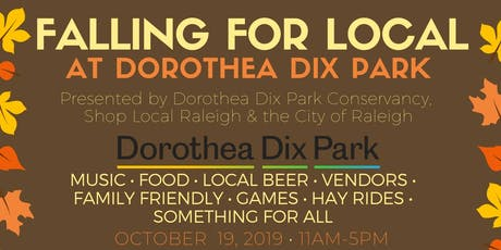Falling for Local at Dorothea Dix Park tickets