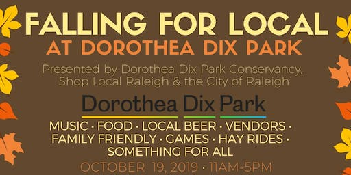Falling for Local at Dorothea Dix Park