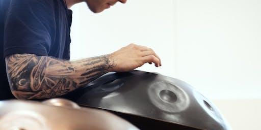 Concert méditatif de handpan - Par Francis Leclerc