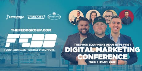 Food Equipment Digital Disruptor Conference tickets
