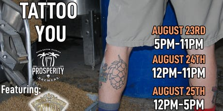 Tattoo You at Prosperity Brewers tickets
