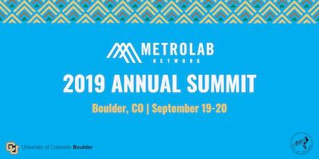 MetroLab Network 2019 Annual Summit tickets