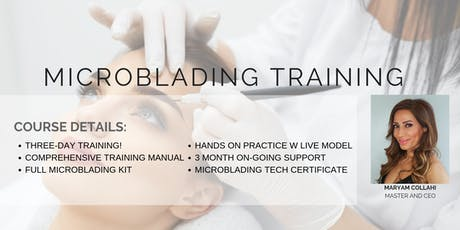 Microblading Training tickets