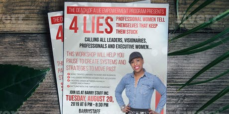 4 Lies Professional Women Tell Themselves That Keep Them Stuck w/Phillitia  tickets