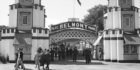 Nouveau manège au parc Belmont : le voyage dans le temps! tickets