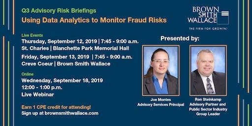 Q3 2019 Advisory Risk Briefing - St. Louis