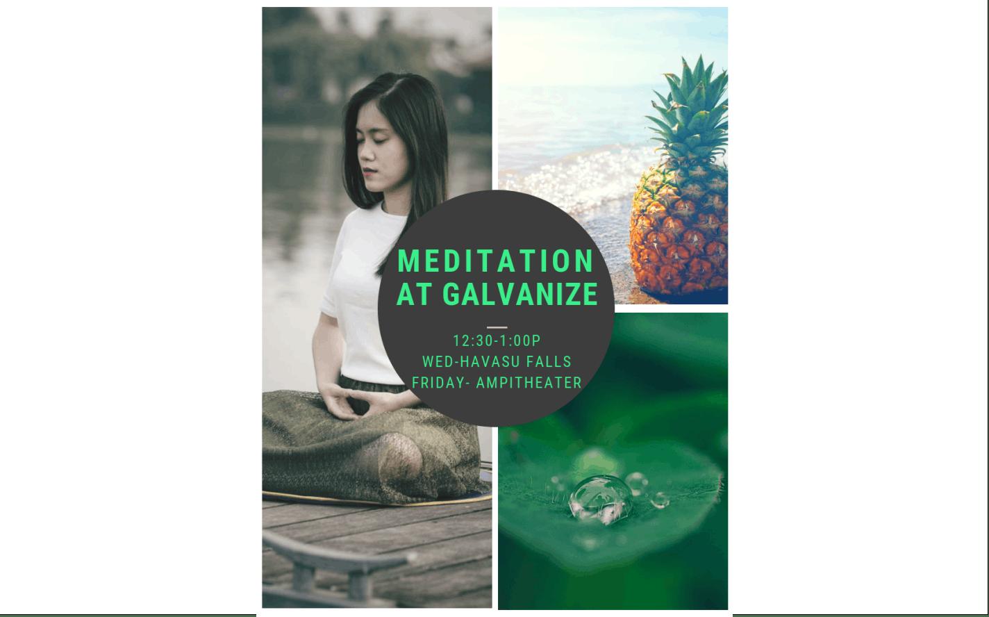 Mindfulness Meditation @ Galvanize