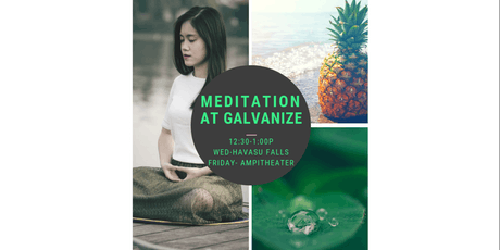 Mindfulness Meditation @ Galvanize tickets