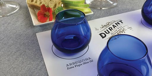 Olive Mill Tour + Official Blue Glass Tasting