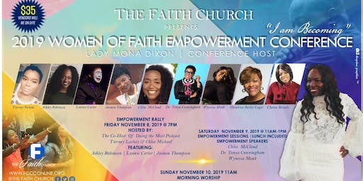 2019 Women Of Faith Empowerment Conference
